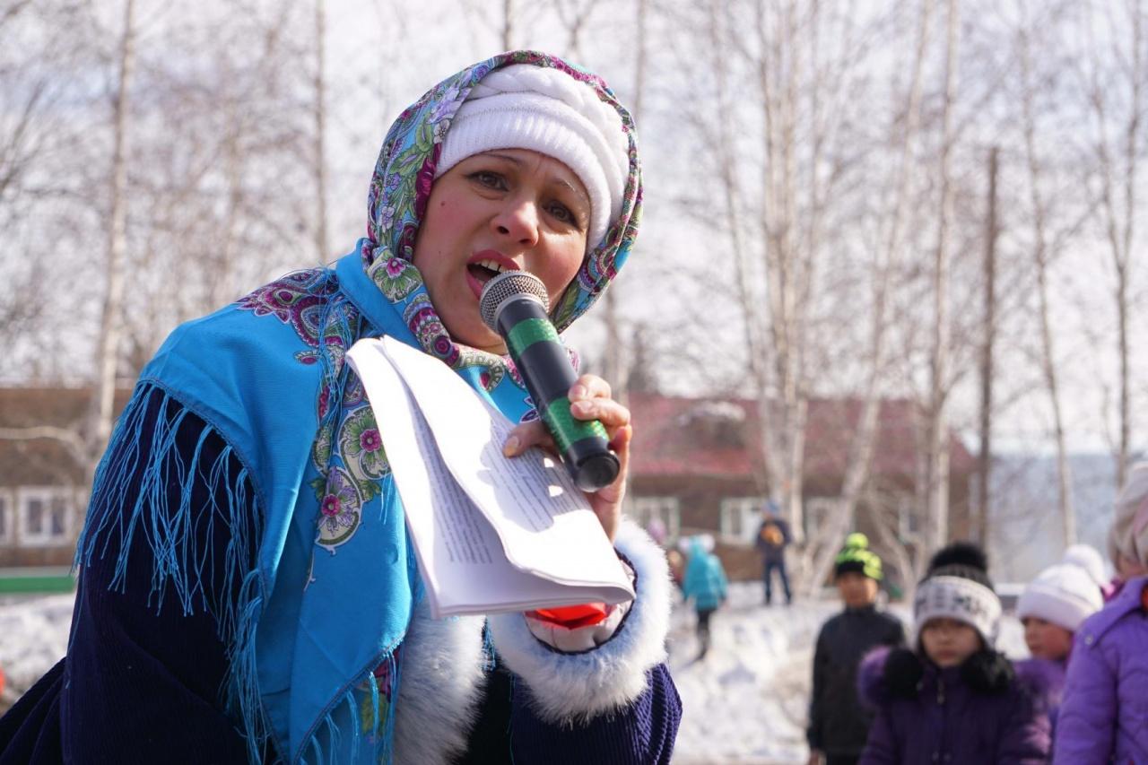 Русские пробежки Магистрального и Казачинска на Масленице с. Казачинское.248