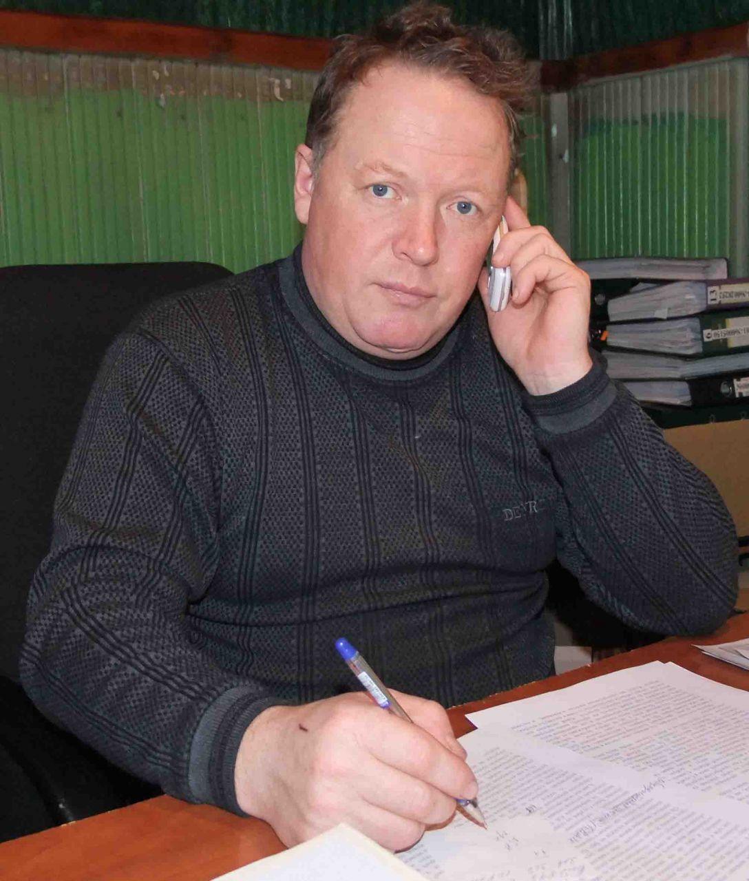 Госинспектор службы по охране природы А.В. Старцев