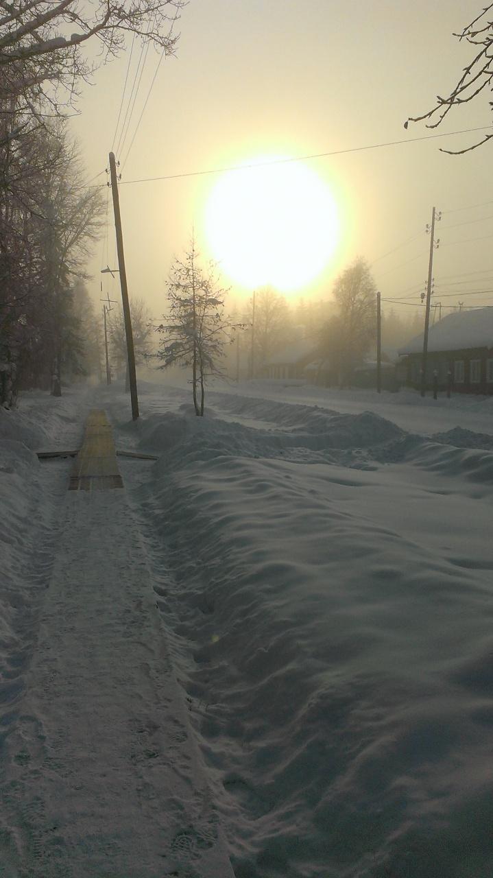 с.Казачинское,  21 января 2016, - 45℃