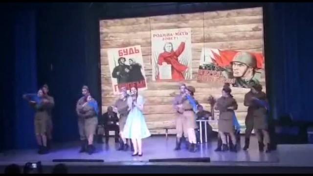 фестивале-конкурсе  фронтовых концертных бригад, посвященном 75 летию Великой Победы 2