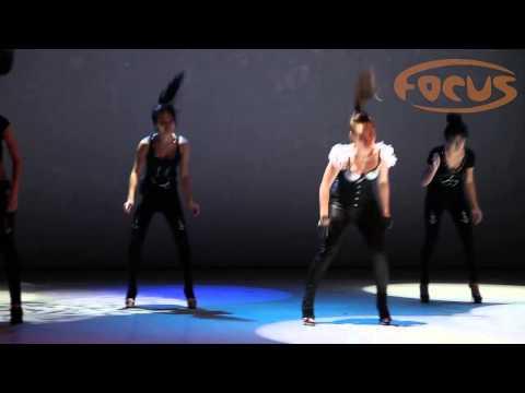 Go Go Зимний отчетный концерт 2013 Dance Studio Focus преподаватель Анна Ният