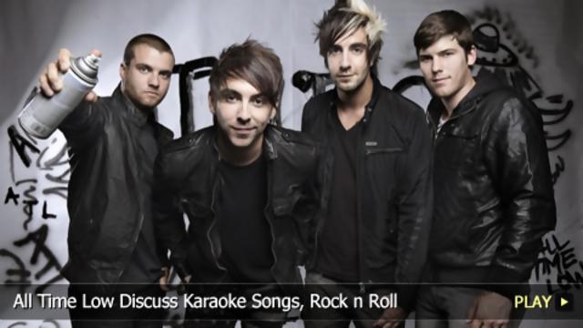 All Time Low Discuss Karaoke Songs, Rock N Roll