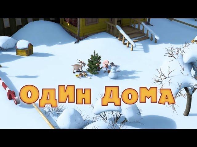 Маша и Медведь - Один дома (Серия 21)