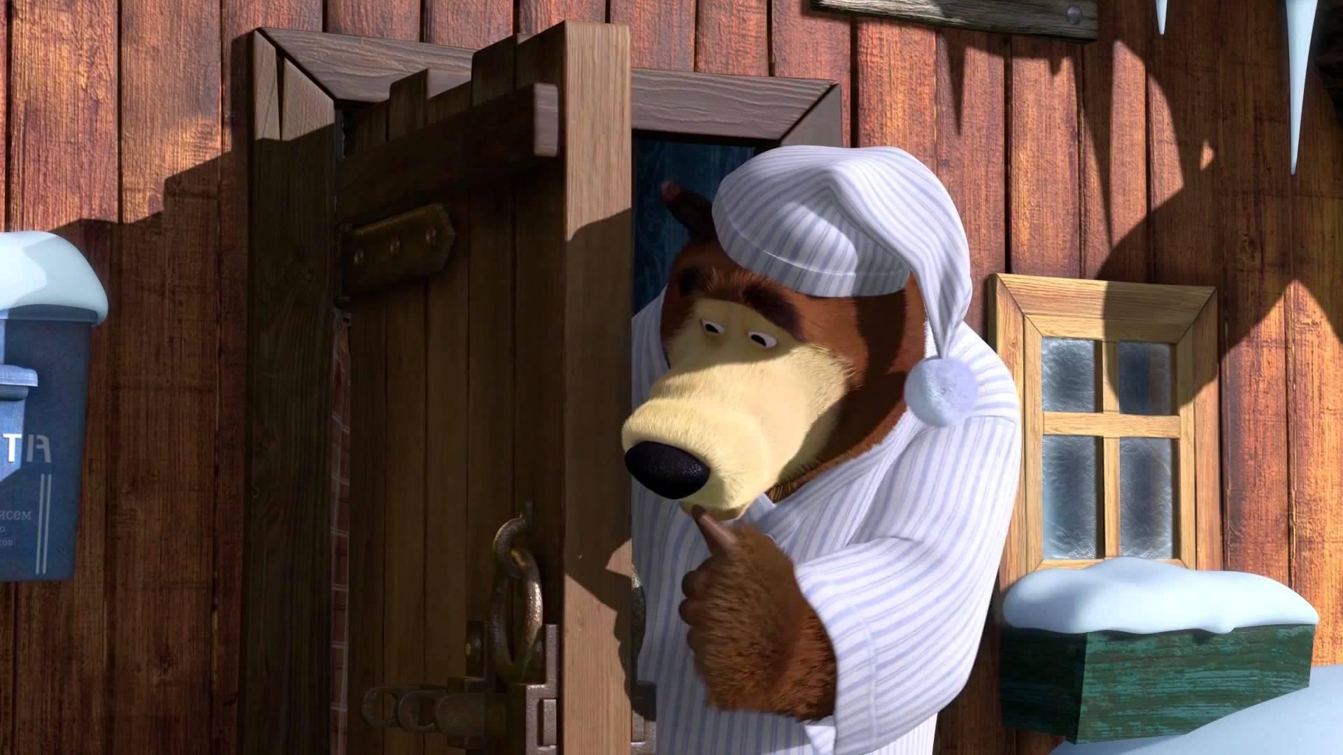 Маша и Медведь - Один дома (Ты что, не будешь Новый год встречать?)