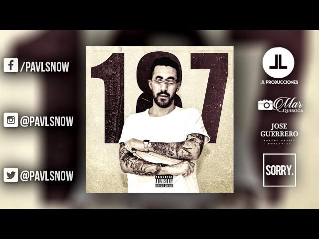 PAVL SNOW - 187 | Official Audio | Trap Argentino