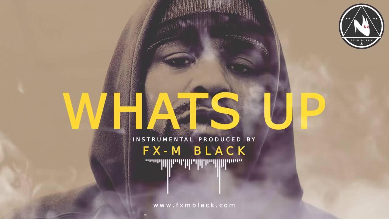 WHATS UP – BASE DE RAP INSTRUMENTAL USO LIBRE HIP HOP BEAT | Fx-M Black Beat's [2017]