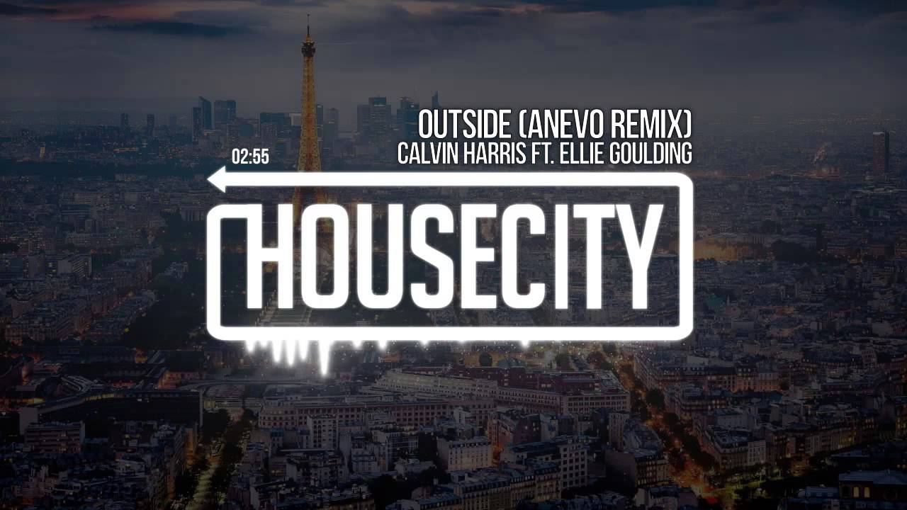 Calvin Harris ft. Ellie Goulding - Outside (Anevo Remix)