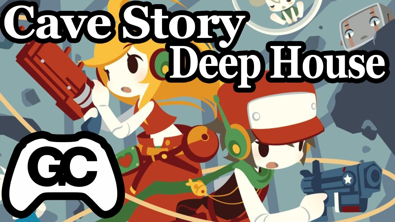 Cave Story ► Moonsong (Curly's Deep House Remix) ► GameChops