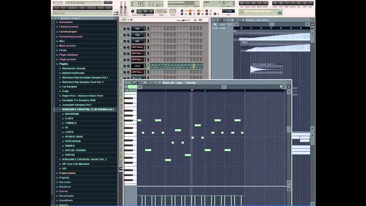 Davide Sonar - All Of Me (Remake Fl Studio 8)