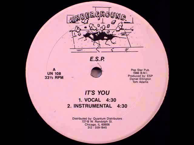 E.S.P. - It's You (Vocal)