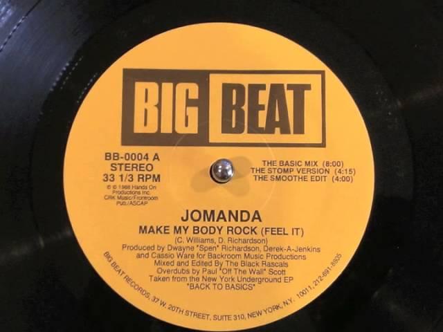 Jomanda - Make My Body Rock