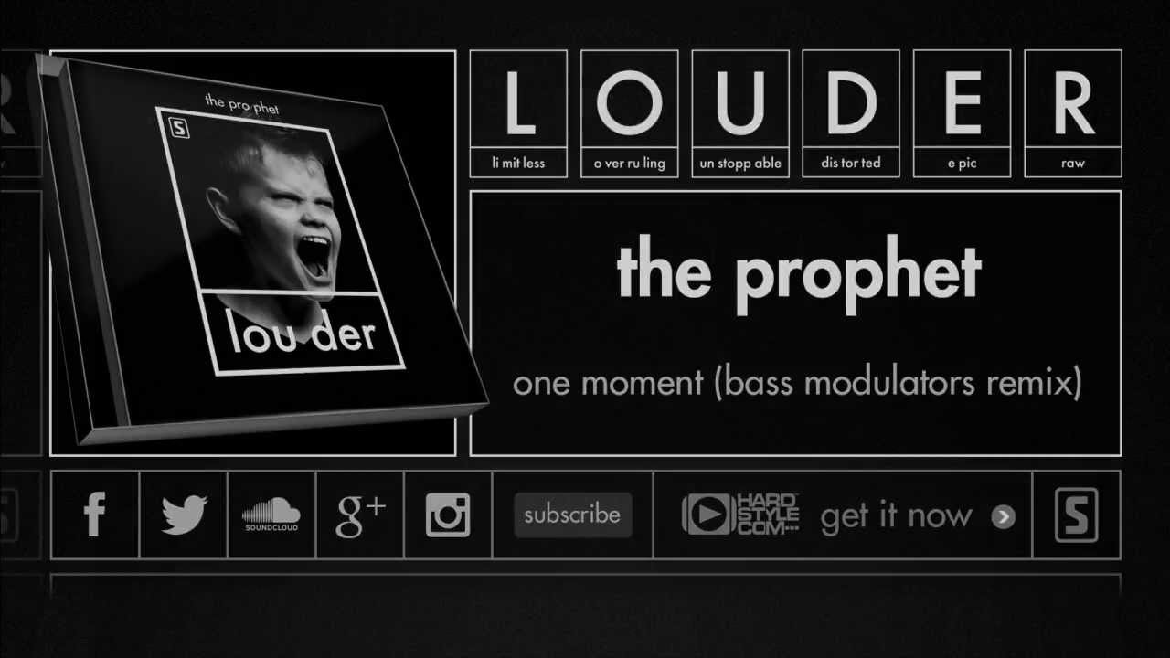 The Prophet - One Moment (Bass Modulators Remix) (Official Preview)