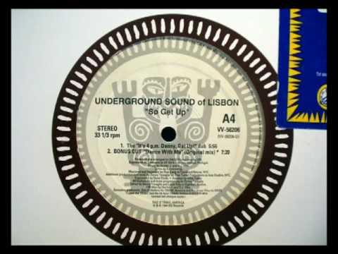 Underground Sound of Lisbon - Dance With Me - 1994 - Vinyl